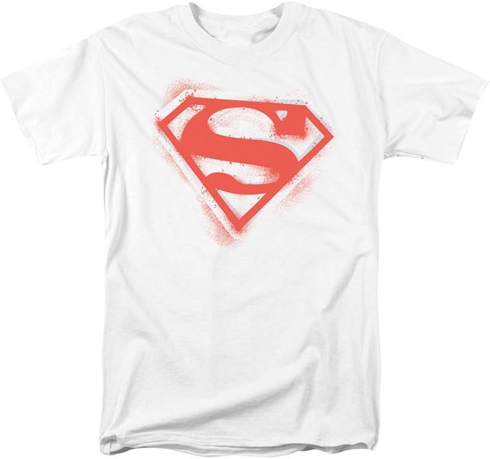 DC Comics Superman Gold And Black Shield Licensed Adult T-Shirt