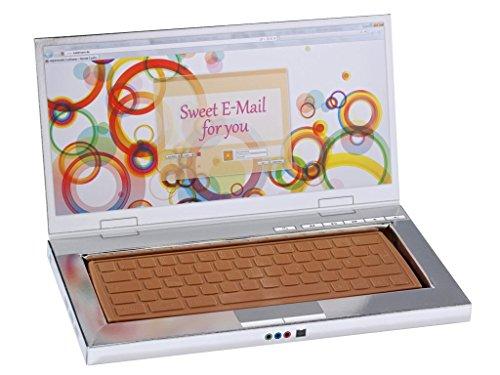Price comparison product image Heilemann Schokoladen Laptop Edelvollmilch,  1er Pack (1 x 300 g)