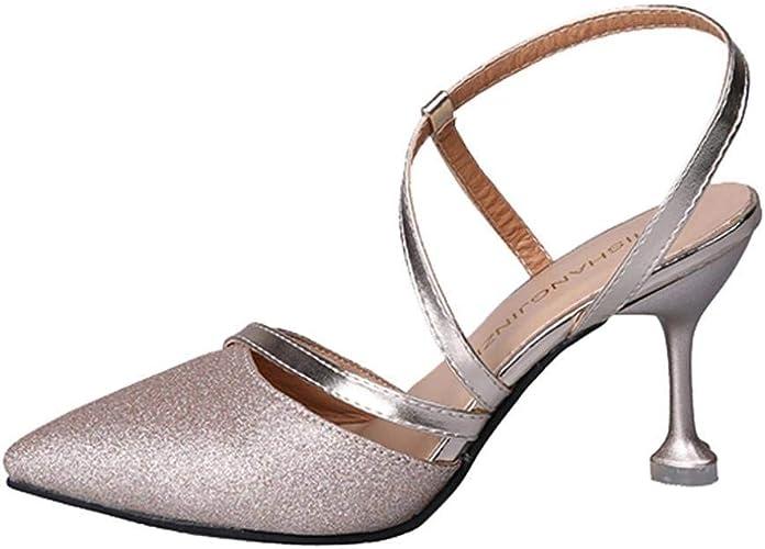 Women Ladies Summer High Heels Sandals
