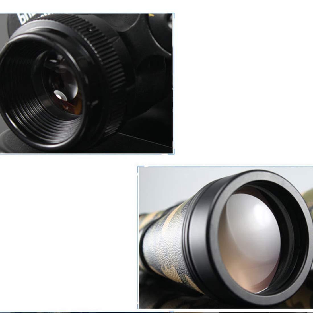 ARecda Binoculares de Alta Potencia de 15x60 15x60 15x60 con visión Nocturna de luz débil Ideal para Juegos y conciertos de observación de Aves Deportes al Aire Libre (Color : Verde) b08ebb