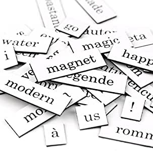 Palabras magnéticas original, Lengua:Francés: Amazon.es: Hogar