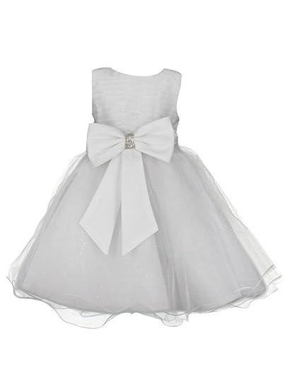 a74ccf44414 Boutique-Magique Robe habillée avec Large nœud pour Fille  Amazon.fr ...