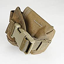 MOLLE M67 Hand Grenade Pouch, NSN 8465-01-558-5185, Coyote Brown (Frag Grenade Pouch)