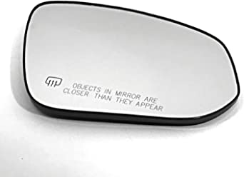 Mirror Glass Replacement Full Adhesive For 05-13 Chevrolet Corvette Driver Si