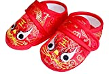 CRB Fashion Baby Newborn Infant Boy Girls Chinese New Years Asian Sock Shoes (11cm)