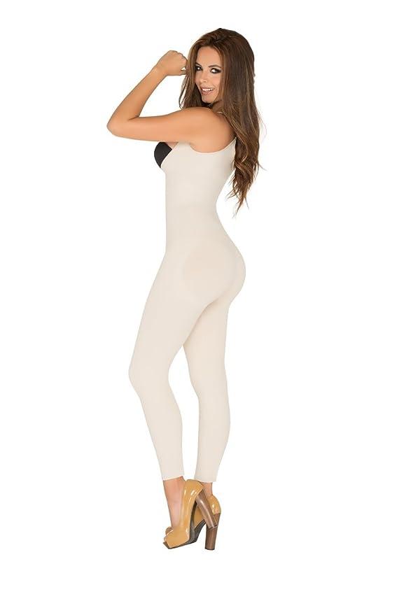 90c6deac64 Amazon.com  ShapEager Shapewear Lycra - Nylon Body Shaper Braless  Adjustables Straps Capri  Baby