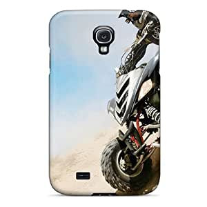 Protective Tpu Case With Fashion Design For Galaxy S4 (atv In Desert Sport)