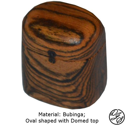 Ring Boxes made with Bubinga by DJS Treasure Chests