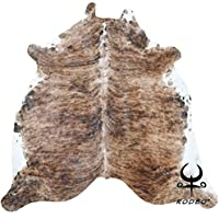 RODEO Brindle Cowhide Rug Large