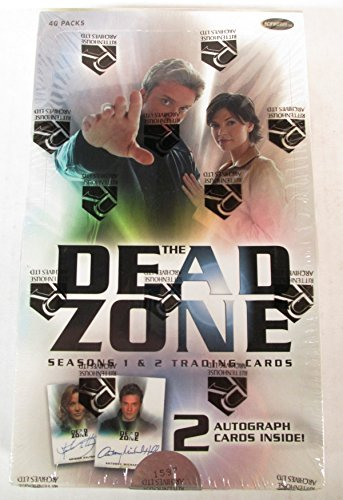 The Dead Zone Seasons 1 & 2 Trading Cards Box Set - 40 Packs by The Dead Zone