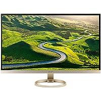 Acer UM.HH7AA.002 H277HU - LED monitor - 27 inch - 2560 x 1440 - 350 cd/m2 - 1000:1 - 4 ms - HDMI, DisplayPort - speakers - white, gold