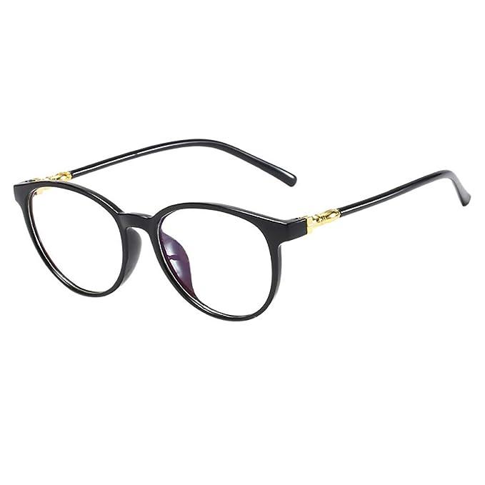 Amazon.com: Gafas para mujer, estilo vintage, redondas, sin ...