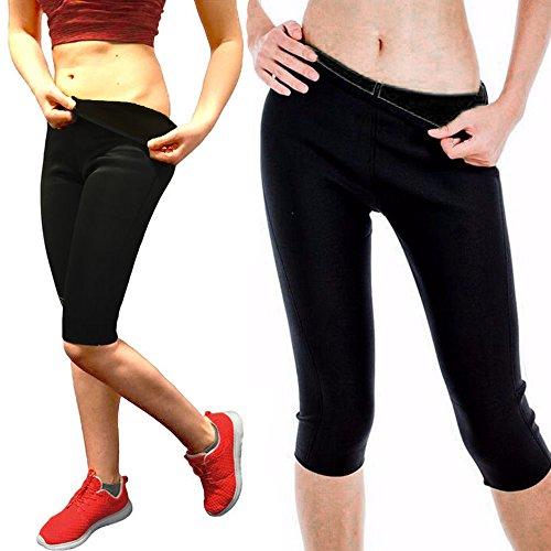 Women's Slim Pants Thermo Neoprene Sweat Sauna Body Shapers Yoga - Delivery Rates Usps