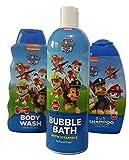 Paw Patrol bath bundle-3 items: bubble bath, shower gel shampoo