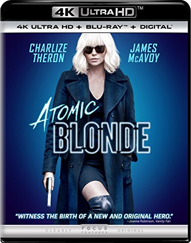 4K Blu-ray : Atomic Blonde (With Blu-Ray, 4K Mastering, Ultraviolet Digital Copy, 2 Pack, Digitally Mastered in HD)