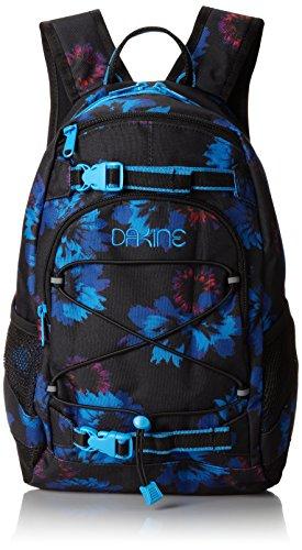 Dakine Girl's Grom Backpack, Blue Flowers, 13L
