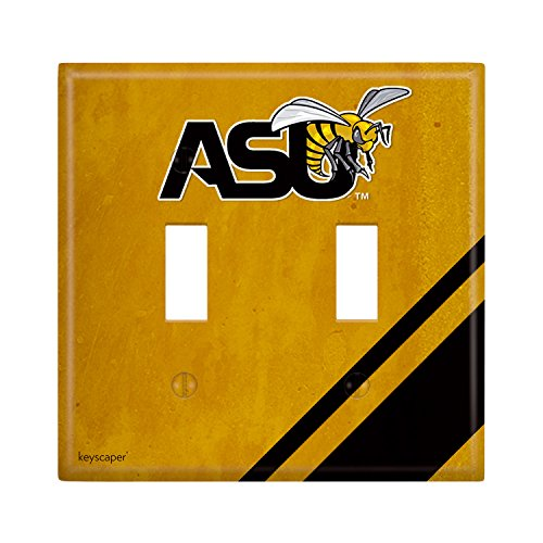 - Alabama State Hornets Double Toggle Light Switch Cover NCAA