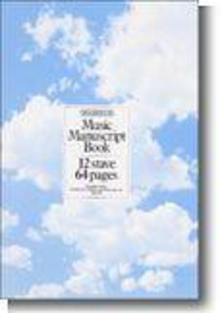 Manuscript Book 12 Stave 64 Page Spiral Bound Music Sales