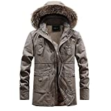 YKARITIANNA Men's Jackets & Coats, 2019 Spring Camouflage Sports & Fitness with Pocket Button Zipper Hoodie Top Coat