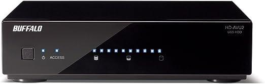 BUFFALO 残量メーター搭載 テレビ・レコーダー対応モデル 外付けハードディスク 2TB HD-AV2.0TU2/AJ