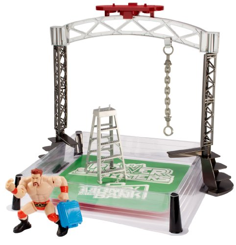 WWE Power Slammers Wrecking Brawl Action Figure (Wwe Money In The Bank Ring Set)