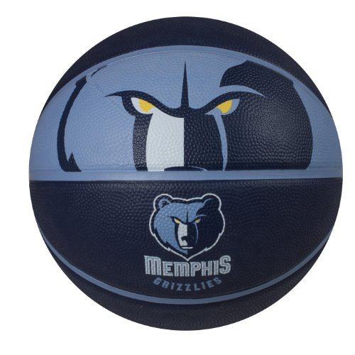 fan products of Spalding NBA Memphis Grizzlies Courtside Rubber Basketball