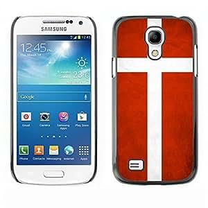 diy phone caseYOYO Slim PC / Aluminium Case Cover Armor Shell Portection //Denmark Grunge Flag //Samsung Galaxy S4 Minidiy phone case