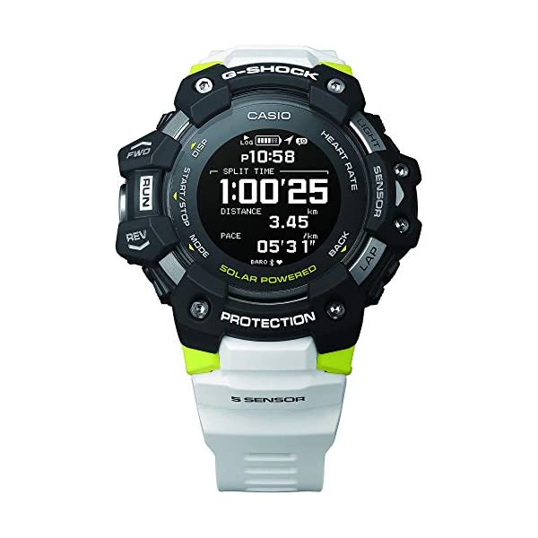 Casio G-Shock G-Squad GBD-H1000-1A7ER - Reloj, 2020 4