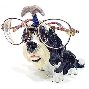 Shih Tzu Dog Breed Novelty Eyeglass Holder Stand 32