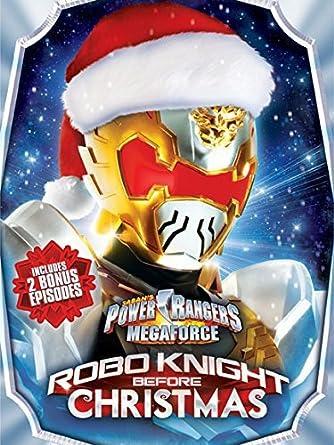 power rangers megaforce robo knight before christmas dvd digital