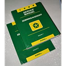 1998 Chrysler Sebring, Dodge Avenger Service Manuals (2 Volume Set)