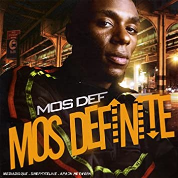 That mos def albums final, sorry
