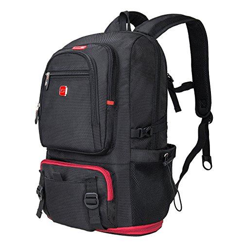 Soarpop 15 Inch Business Laptop Rucksack, Wasserdichter Tagesrucksack mit Großer Kapazität, Multifunktionaler praktischer Rucksack