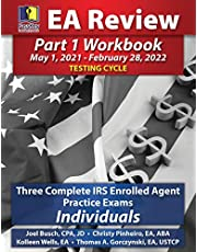 PassKey Learning Systems EA Review Part 1 Workbook: Three Complete IRS Enrolled Agent Practice Exams for Individuals (May 1, 2021-February 28, 2022 Testing Cycle)