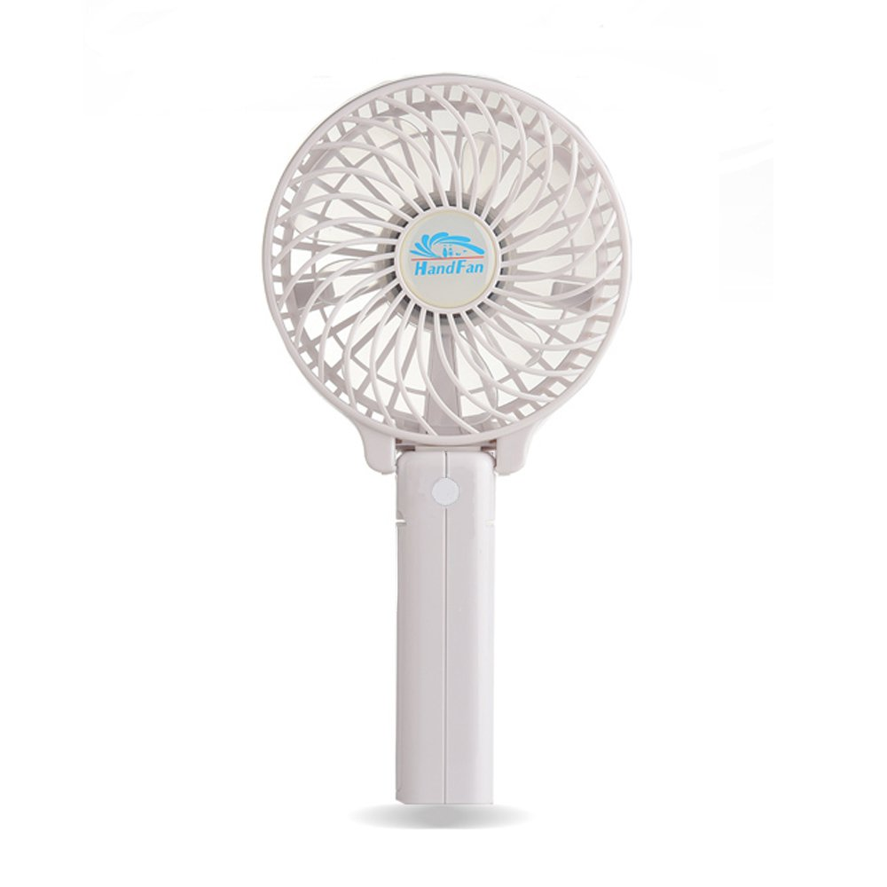 Very Small Personal Fans : Niceshop portable handheld mini rechargeable fans battery