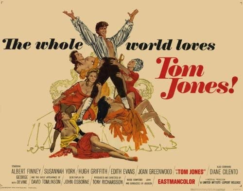 Amazon.com: Movie Posters Tom Jones - 27 x 40: Posters & Prints