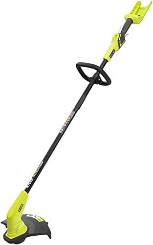 Ryobi RY40204 40-Volt Lithium-Ion Cordless String Trimmer – Battery and Charger Not Included Renewed