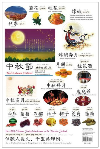 Festival Wall (Chinese Festival Wall Chart: Mid-Autumn Festival - Traditional)