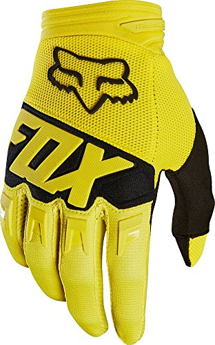 Motorcycle Dirtpaw Gloves (Fox Racing Dirtpaw Race Youth Boys Off-Road Motorcycle Gloves - Yellow / Small)