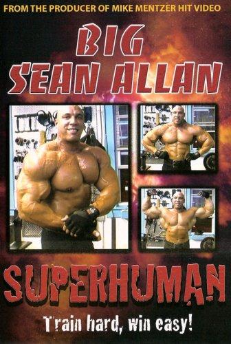 DVD : Big Sean Allen: Superhuman Bodybuilding (Colorized)