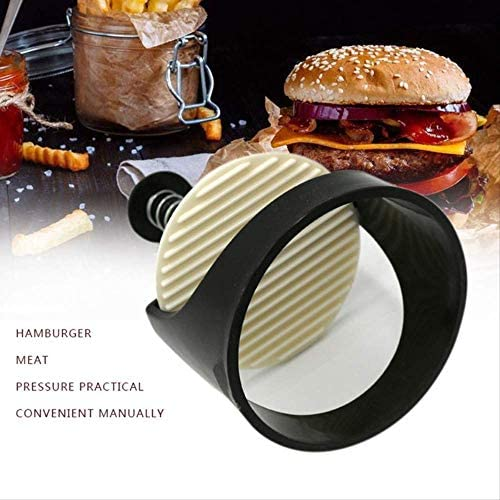 XBR Fleisch Tenderisers Burger Press Gadgets 1 PC Kunststoff Runde Form Hamburger Fleischpresse Edelstahl Maker Küche Kochutensilien Gadgets Burger Press Fleisch Lebensmittelform