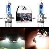 honda civic 2000 hid headlights - CCIYU H4 9003 5900K Super White Xenon HID Halogen Headlight Bulb Low/High Beam (Pack of 2)