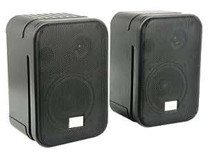 LTC Audio SSP405B - Equipo de altavoces de 60W, negro