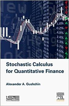 Stochastic Calculus for Quantitative Finance