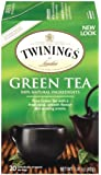 Twinings of London Green Tea Bags, 20 Count (Pack of 6)
