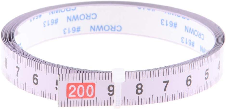 Sinistra a Destra 0-100 cm Nastro Adesivo Metrico Misura Metrico Righello Acciaio
