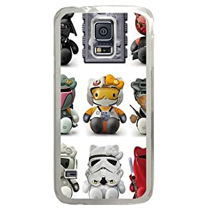 Samsung S5 Great for designing your own case,Designed Specifically for Samsung S5 Compatible with Hello Starwars.