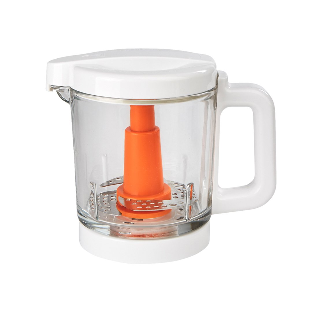Baby Brezza Glass Baby Food Maker – Cooker and Blender to Steam and Puree Baby Food for Pouches in Glass Bowl - Make Organic Food for Infants and Toddlers – 4 Cup Capacity by Baby Brezza (Image #3)