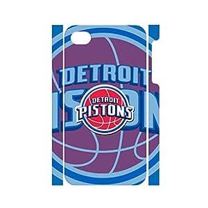 Creative Basketball Team Logo Hard Plastic Phone Shell for Iphone 4 4s Case