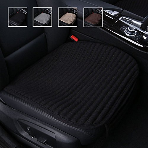 Suninbox Car Seat Cushion,Buckwheat Hulls Car Seat Covers,Ventilated Breathable Comfortable Car Cushion,Anti-Skid Four Seasons General Car Seat Protector ()